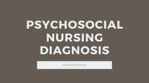 psychosocial nursing diagnosis